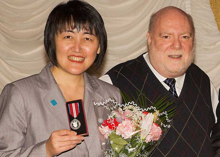 Epoch Times Publisher Awarded Diamond Jubilee Medal