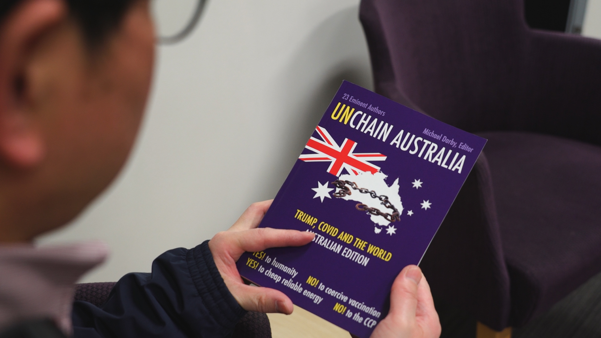 You are currently viewing Unchain Australia, A New Book You Should Read